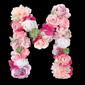 letras con flores regalo salobreña