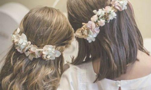 flores pelo comunion niña
