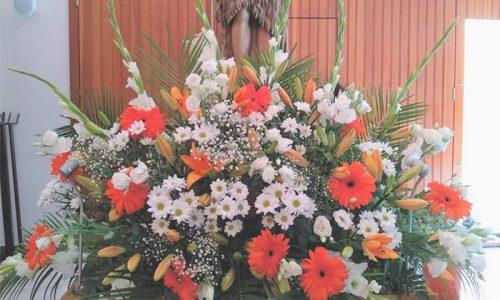 Flores del Santo de Salobreña iglesia