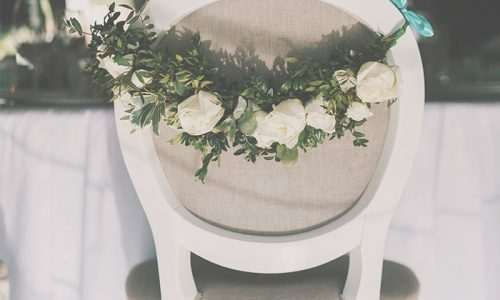 Flores asientos bodas